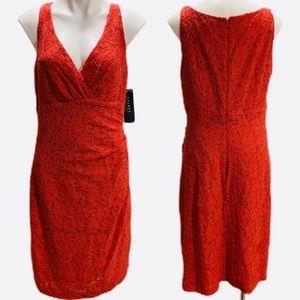 Lauren Ralph Lauren Lace Geranium Dress